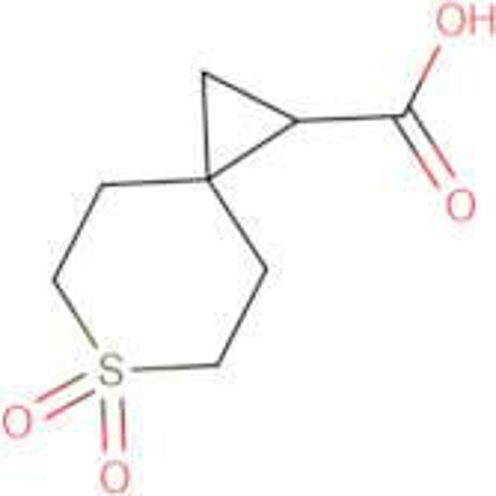 6,6-Dioxo-6lambda(6)-thiaspiro[2.5]octane-1-carboxylic acid