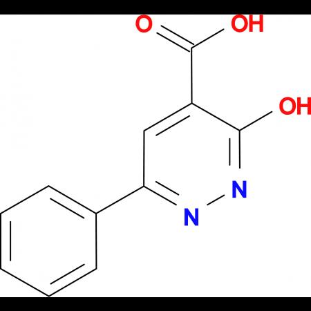 3-Hydroxy-6-phenyl-pyridazine-4-carboxylic acid