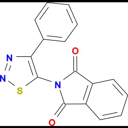2-(4-Phenyl-[1,2,3]thiadiazol-5-yl)-isoindole-1,3-dione