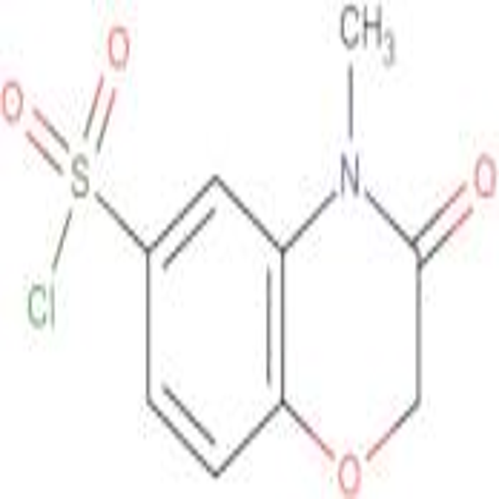 4-Methyl-3-oxo-3,4-dihydro-2H-benzo[1,4]oxazine-6-sulfonyl chloride