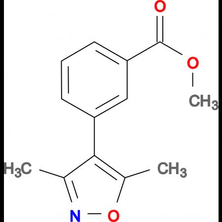 3-(3,5-Dimethyl-isoxazol-4-yl)-benzoic acid methyl ester