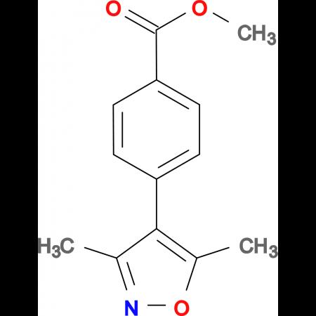 4-(3,5-Dimethyl-isoxazol-4-yl)-benzoic acid methyl ester
