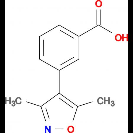 3-(3,5-Dimethyl-isoxazol-4-yl)-benzoic acid