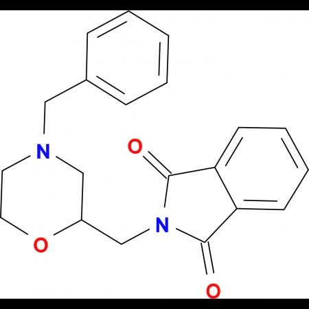 2-(4-Benzyl-morpholin-2-ylmethyl)-isoindole-1,3-dione