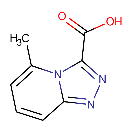 5-Methyl-[1,2,4]triazolo[4,3-a]pyridine-3-carboxylic acid