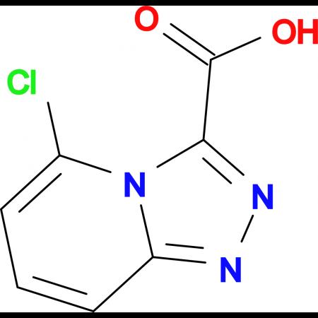 5-Chloro-[1,2,4]triazolo[4,3-a]pyridine-3-carboxylic acid
