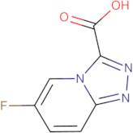 6-Fluoro-[1,2,4]triazolo[4,3-a]pyridine-3-carboxylic acid