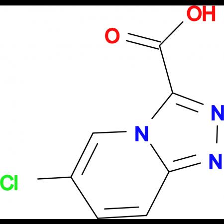 6-Chloro-[1,2,4]triazolo[4,3-a]pyridine-3-carboxylic acid