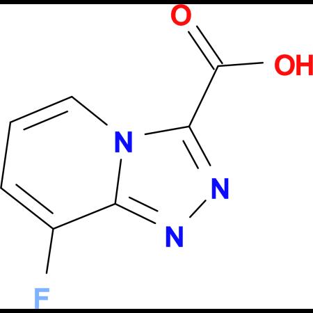 8-Fluoro-[1,2,4]triazolo[4,3-a]pyridine-3-carboxylic acid