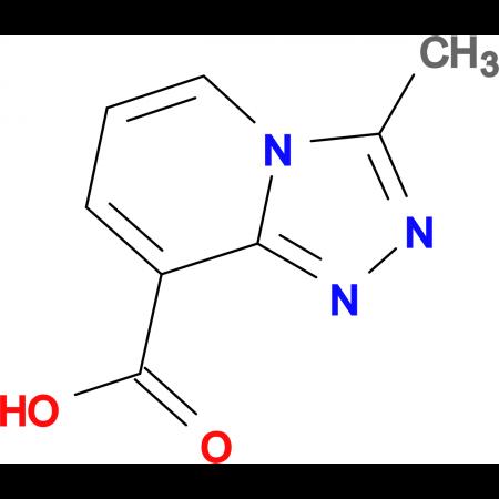 3-Methyl-[1,2,4]triazolo[4,3-a]pyridine-8-carboxylic acid