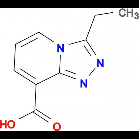 3-Ethyl-[1,2,4]triazolo[4,3-a]pyridine-8-carboxylic acid