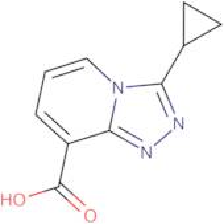 3-Cyclopropyl-[1,2,4]triazolo[4,3-a]pyridine-8-carboxylic acid