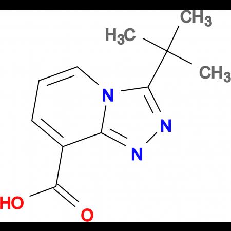 3-tert-Butyl-[1,2,4]triazolo[4,3-a]pyridine-8-carboxylic acid