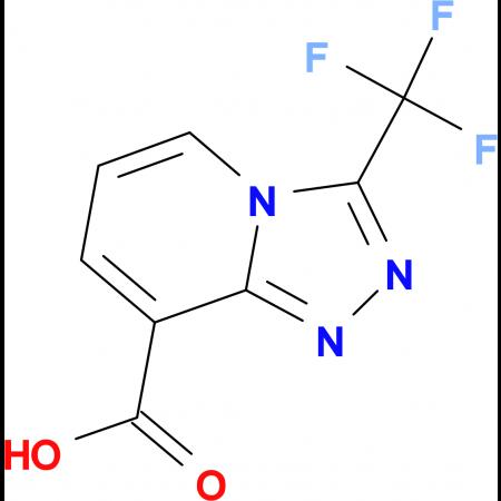3-(Trifluoromethyl)-[1,2,4]triazolo[4,3-a]pyridine-8-carboxylic acid