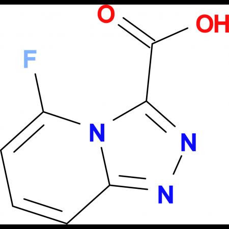 5-Fluoro-[1,2,4]triazolo[4,3-a]pyridine-3-carboxylic acid