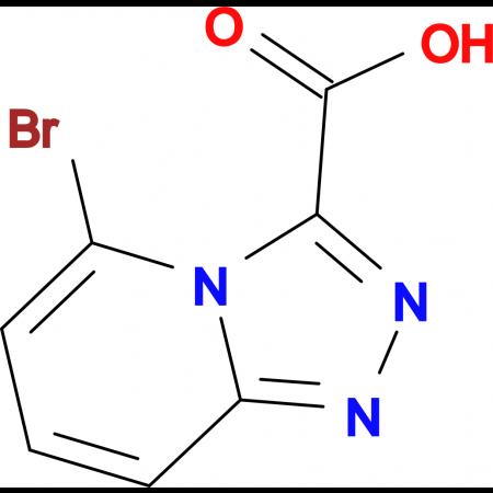 5-Bromo-[1,2,4]triazolo[4,3-a]pyridine-3-carboxylic acid