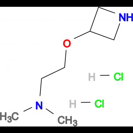2-(Azetidin-3-yloxy)-N,N-dimethylethanamine dihydrochloride