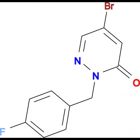 5-Bromo-2-(4-fluorobenzyl)pyridazin-3(2H)-one