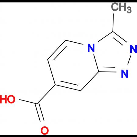 3-Methyl-[1,2,4]triazolo[4,3-a]pyridine-7-carboxylic acid