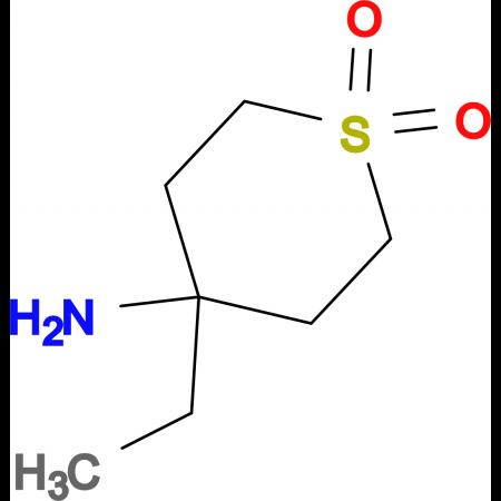 4-Amino-4-ethyl-1Lambda(6)-thiane-1,1-dione