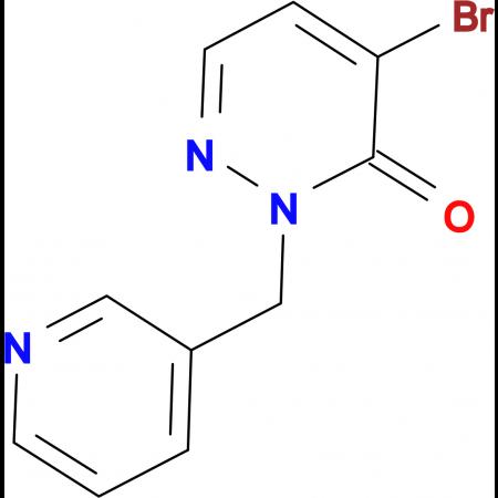 4-Bromo-2-(pyridin-3-ylmethyl)pyridazin-3(2H)-one