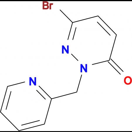 6-Bromo-2-(pyridin-2-ylmethyl)pyridazin-3(2H)-one