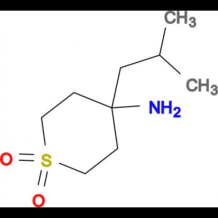 4-Amino-4-(2-methylpropyl)-1Lambda(6)-thiane-1,1-dione