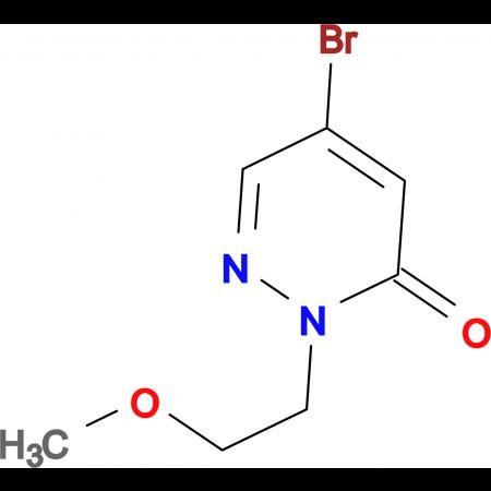 5-Bromo-2-(2-methoxyethyl)pyridazin-3(2H)-one