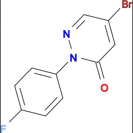 5-Bromo-2-(4-fluorophenyl)pyridazin-3(2H)-one