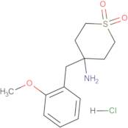 4-Amino-4-[(2-methoxyphenyl)methyl]-1lambda(6)-thiane-1,1-dione hydrochloride