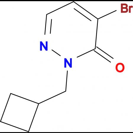 4-Bromo-2-(cyclobutylmethyl)pyridazin-3(2H)-one