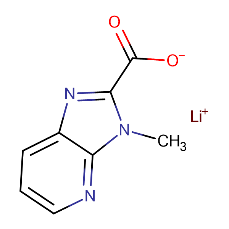 Lithium 3-methyl-3H-imidazo[4,5-b]pyridine-2-carboxylate