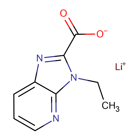 Lithium 3-ethyl-3H-imidazo[4,5-b]pyridine-2-carboxylate