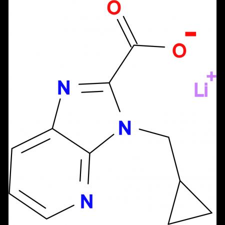 Lithium 3-(cyclopropylmethyl)-3H-imidazo[4,5-b]pyridine-2-carboxylate