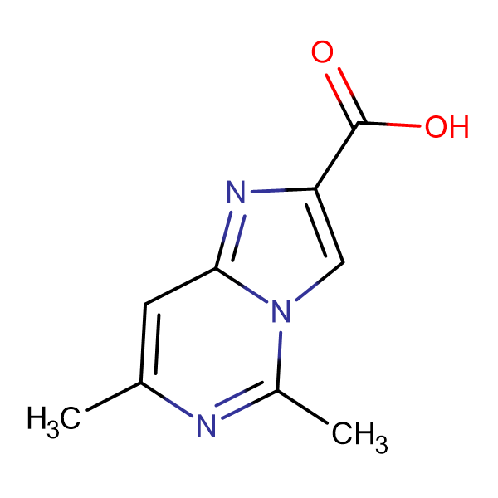 5,7-Dimethylimidazo[1,2-c]pyrimidine-2-carboxylic acid