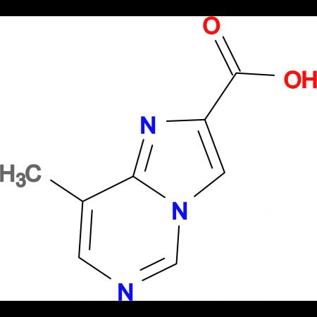 8-Methylimidazo[1,2-c]pyrimidine-2-carboxylic acid