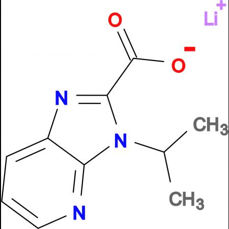 Lithium 3-isopropyl-3H-imidazo[4,5-b]pyridine-2-carboxylate