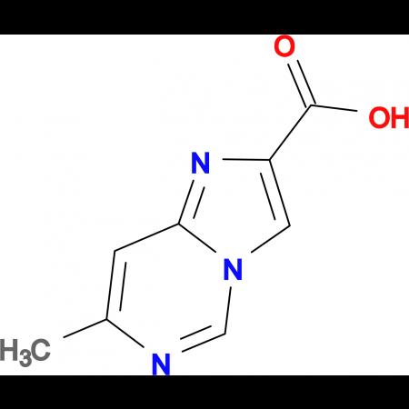 7-Methylimidazo[1,2-c]pyrimidine-2-carboxylic acid
