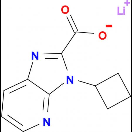Lithium 3-cyclobutyl-3H-imidazo[4,5-b]pyridine-2-carboxylate
