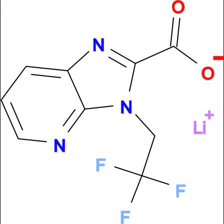 Lithium 3-(2,2,2-trifluoroethyl)-3H-imidazo[4,5-b]pyridine-2-carboxylate