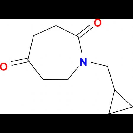1-(cyclopropylmethyl)-2,5-azepanedione