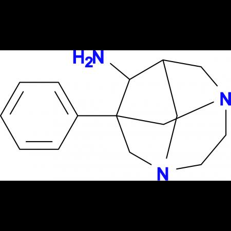 1-phenyl-3,6-diazatricyclo[4.3.1.1~3,8~]undecan-9-amine