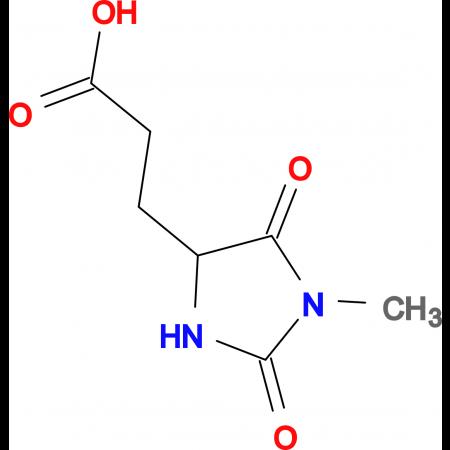 3-(1-Methyl-2,5-dioxo-imidazolidin-4-yl)-propionic acid