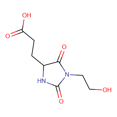 3-[1-(2-Hydroxy-ethyl)-2,5-dioxo-imidazolidin-4-yl]-propionic acid