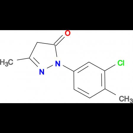 2-(3-Chloro-4-methyl-phenyl)-5-methyl-2,4-dihydro-pyrazol-3-one