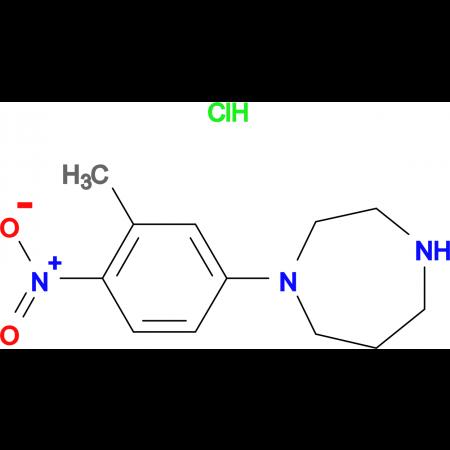 1-(3-METHYL-4-NITROPHENYL)HOMOPIPERAZINE HYDROCHLORIDE