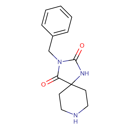 3-Benzyl-1,3,8-triaza-spiro[4.5]decane-2,4-dione