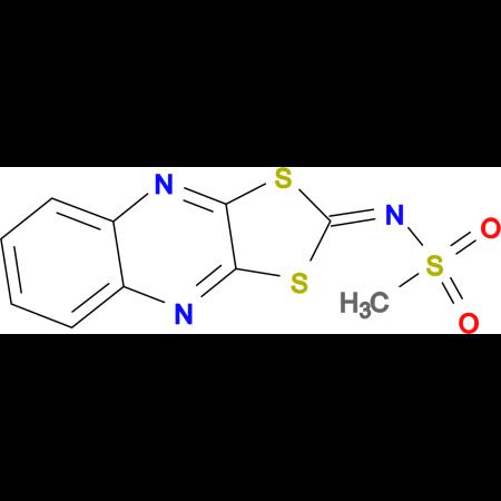 N-(1,3-DITHIA-4,9-DIAZA-CYCLOPENTA[B]NAPHTHALEN-2-YLIDENE)-METHANESULFONAMIDE
