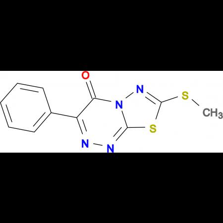 7-METHYLSULFANYL-3-PHENYL-[1,3,4]THIADIAZOLO[2,3-C][1,2,4]TRIAZIN-4-ONE