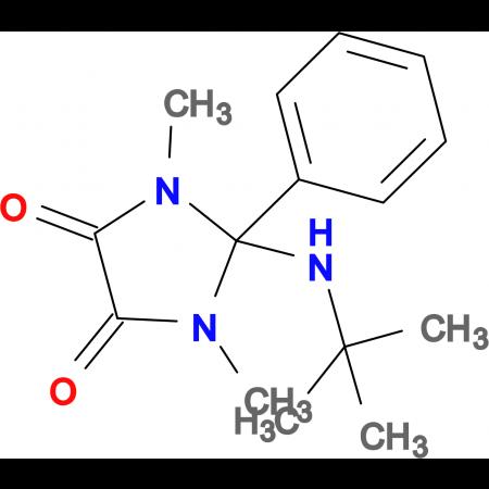 2-TERT-BUTYLAMINO-1,3-DIMETHYL-2-PHENYL-IMIDAZOLIDINE-4,5-DIONE